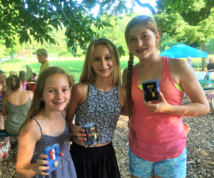 Jillian Faletta, Niki Albrechtovics and Tessa Lytle show off their Gold Medals!